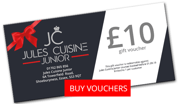 Buy kids cooking class voucher